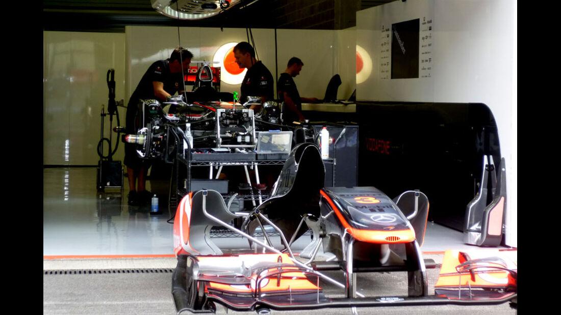 McLaren - GP Belgien - 25. August 2012