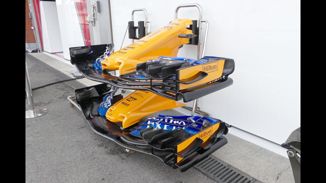 McLaren - GP Belgien - Spa-Francorchamps - 24. August 2018