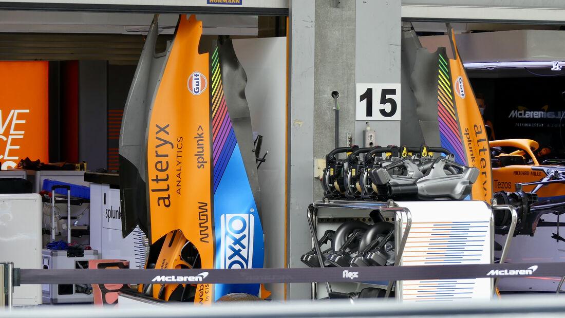 McLaren - GP Belgien - Spa-Francorchamps - 26. August 2021