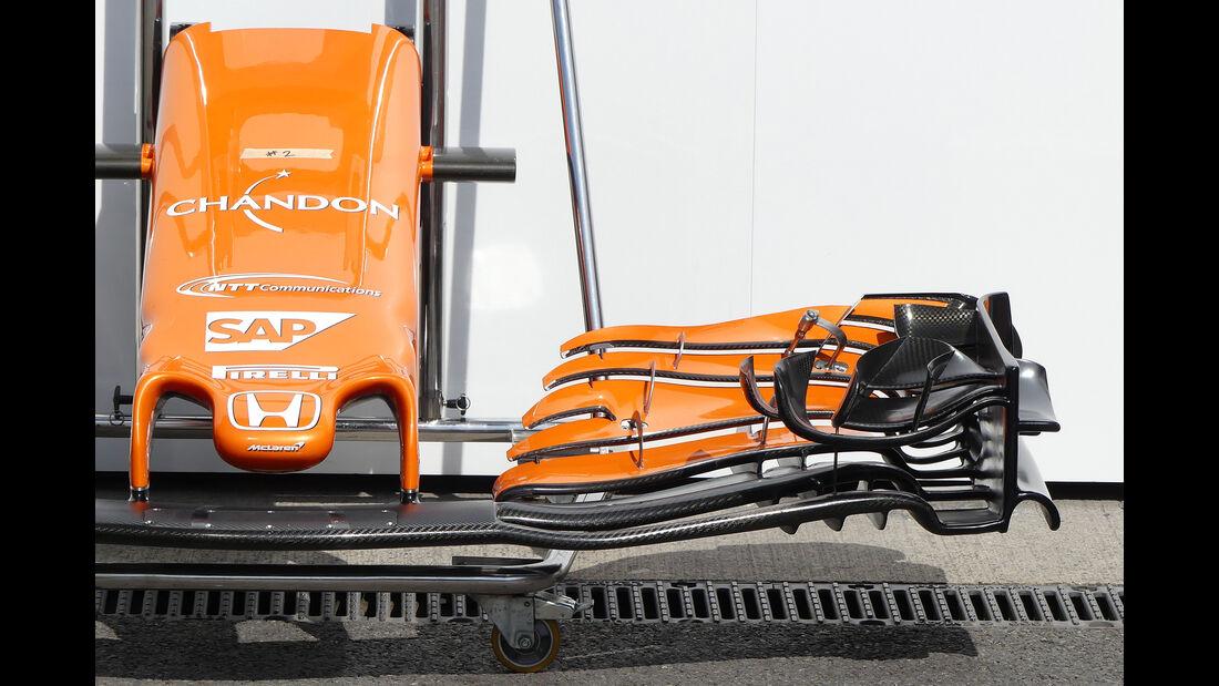 McLaren - GP Belgien - Spa-Francorchamps - Formel 1 - 23. August 2017