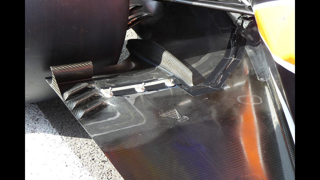 McLaren - GP Belgien - Spa-Francorchamps - Formel 1 - 24. August 2017