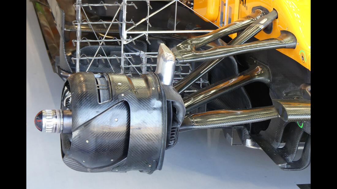 McLaren - GP Belgien - Spa-Francorchamps - Formel 1 - Freitag - 30.08.2019