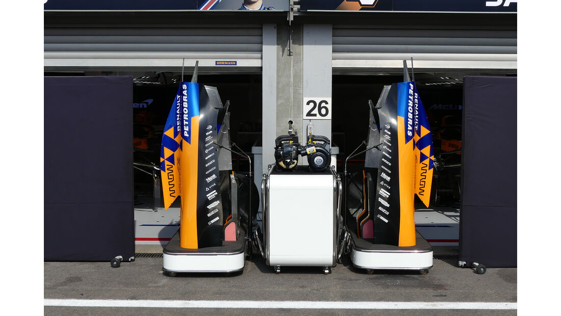 McLaren - GP Belgien - Spa-Francorchamps - Formel 1 - Mittwoch - 28.8.2019
