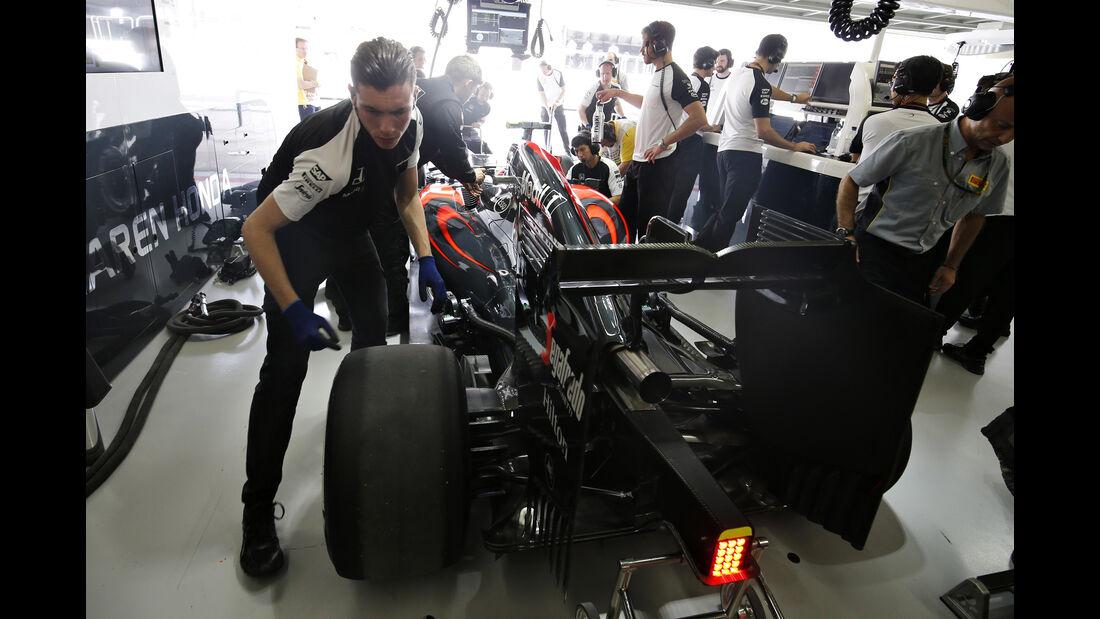 McLaren - GP Brasilien 2015