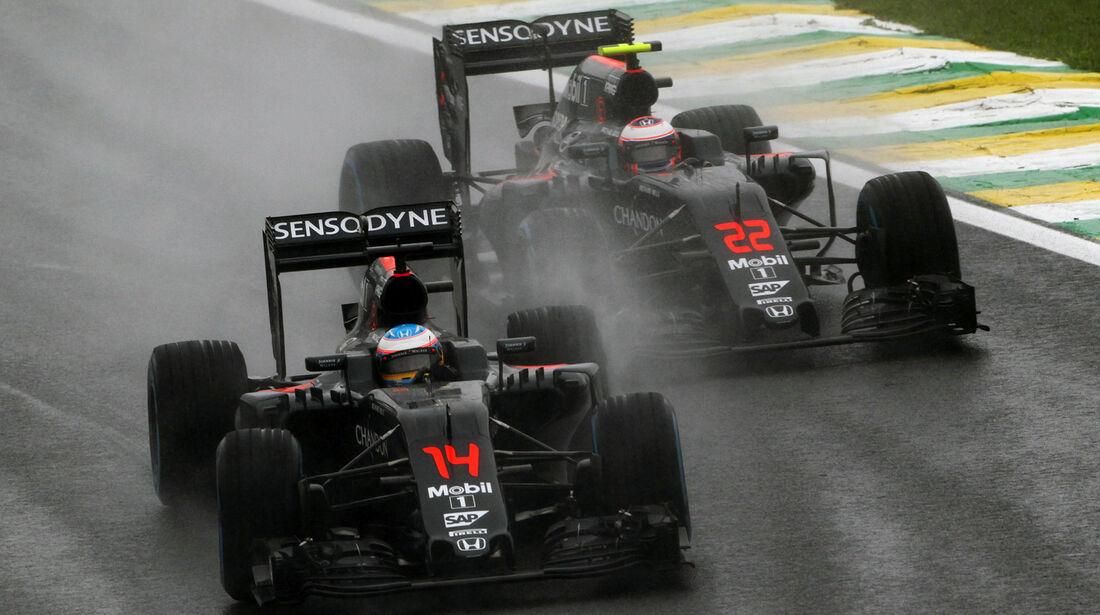 McLaren - GP Brasilien 2016