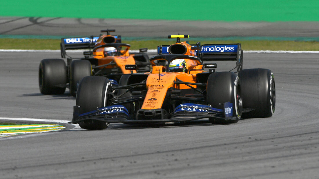 McLaren - GP Brasilien 2019