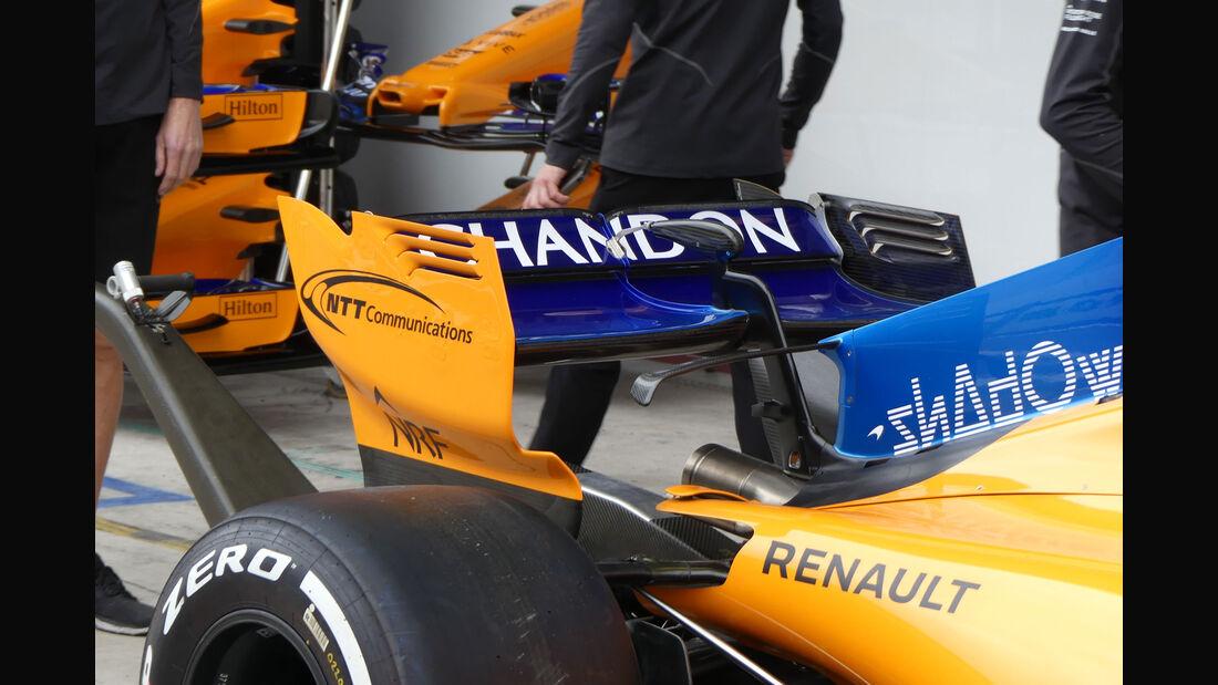 McLaren - GP Brasilien - Interlagos - Formel 1 - Donnerstag - 8.11.2018