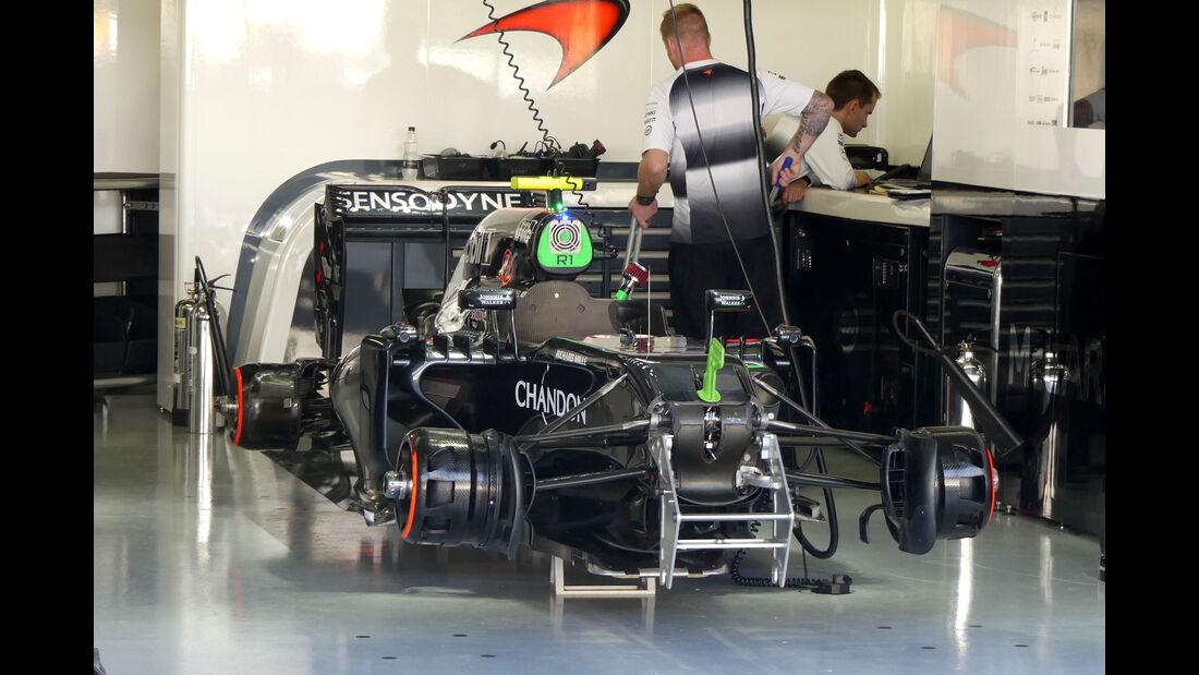 McLaren - GP Brasilien - Interlagos - Freitag - 11.11.2016