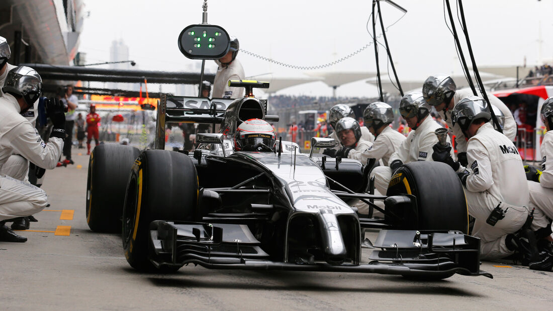 McLaren - GP China 2014