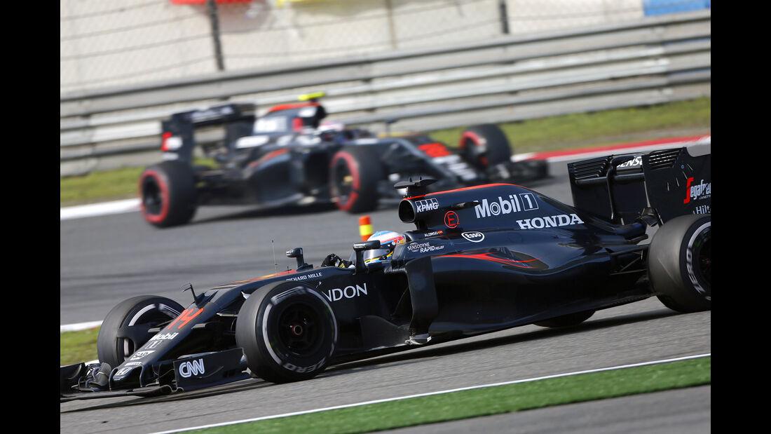 McLaren - GP China 2016