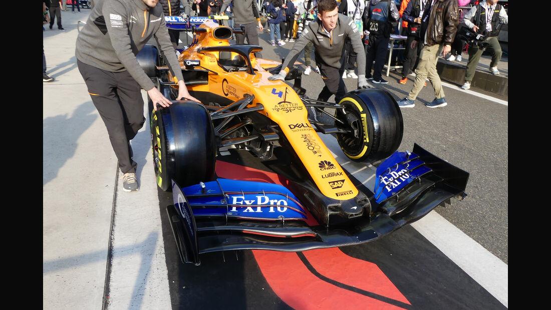 McLaren - GP China - Shanghai - Formel 1 - Donnerstag - 11.4.2019