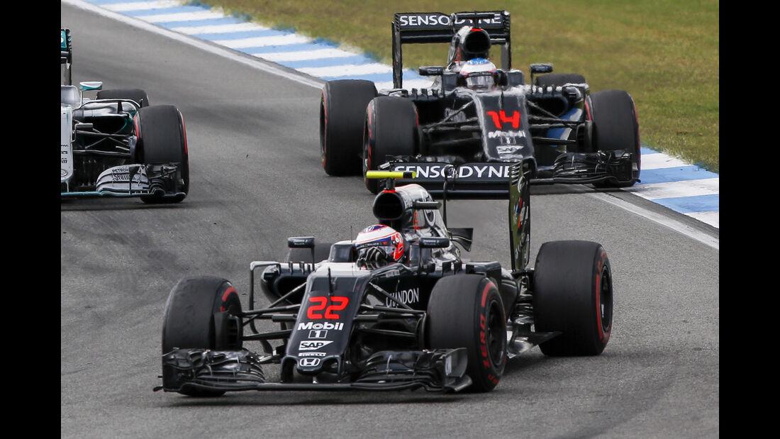 McLaren - GP Deutschland 2016