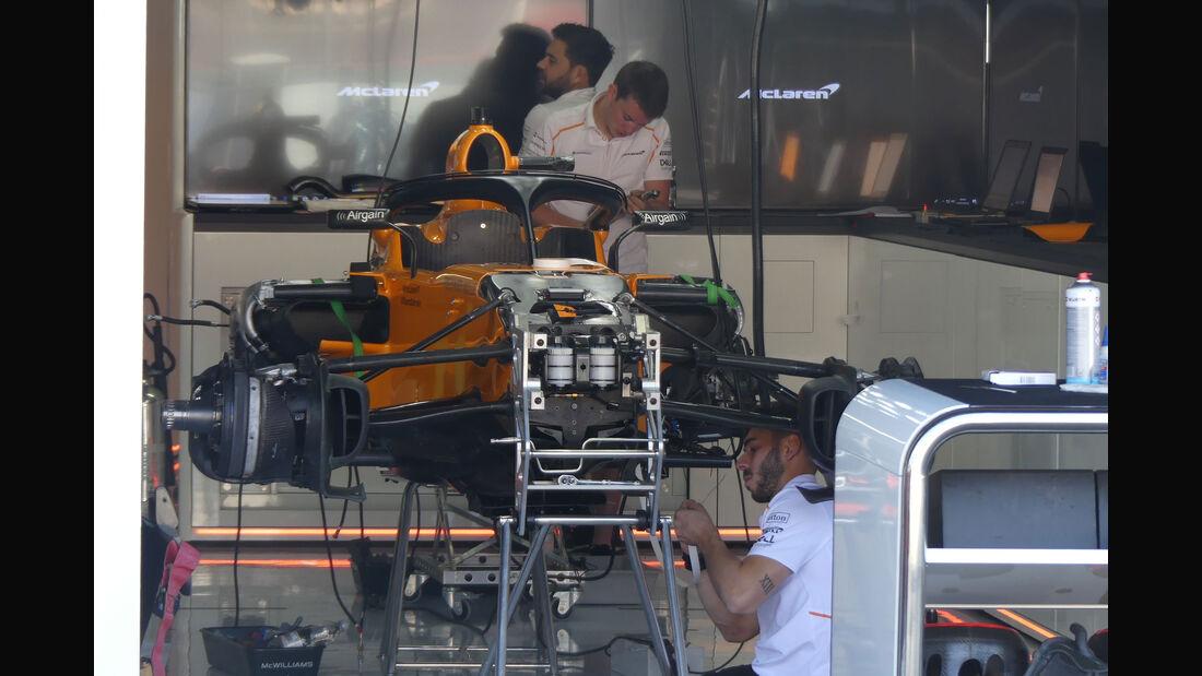McLaren - GP Deutschland - Hockenheim - Formel 1 - Donnerstag - 19.7.2018