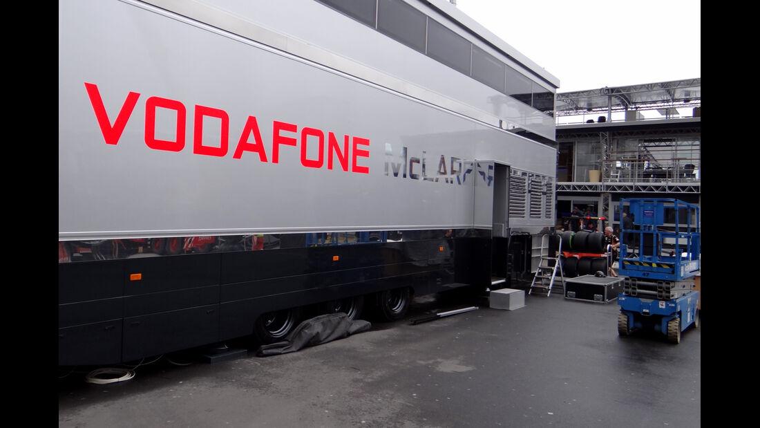 McLaren - GP Deutschland - Nürburgring - 3. Juli 2013