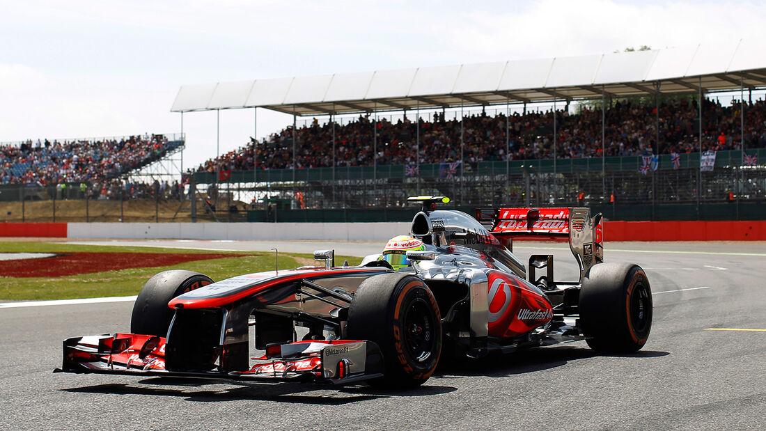 McLaren - GP England 2013