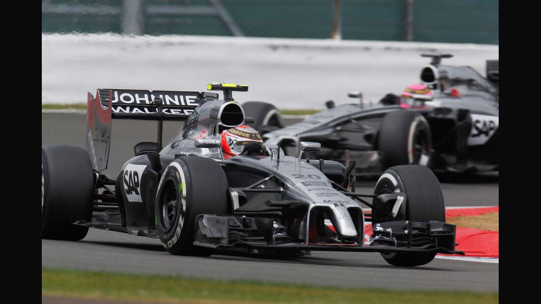McLaren - GP England 2014