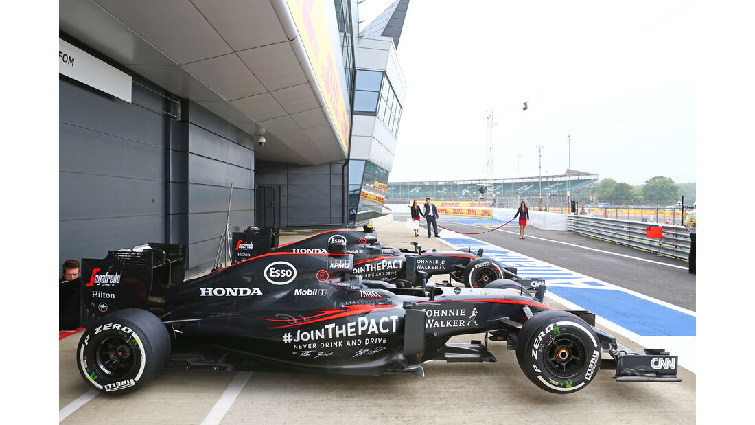 McLaren - GP England 2015