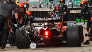 McLaren - GP England 2017