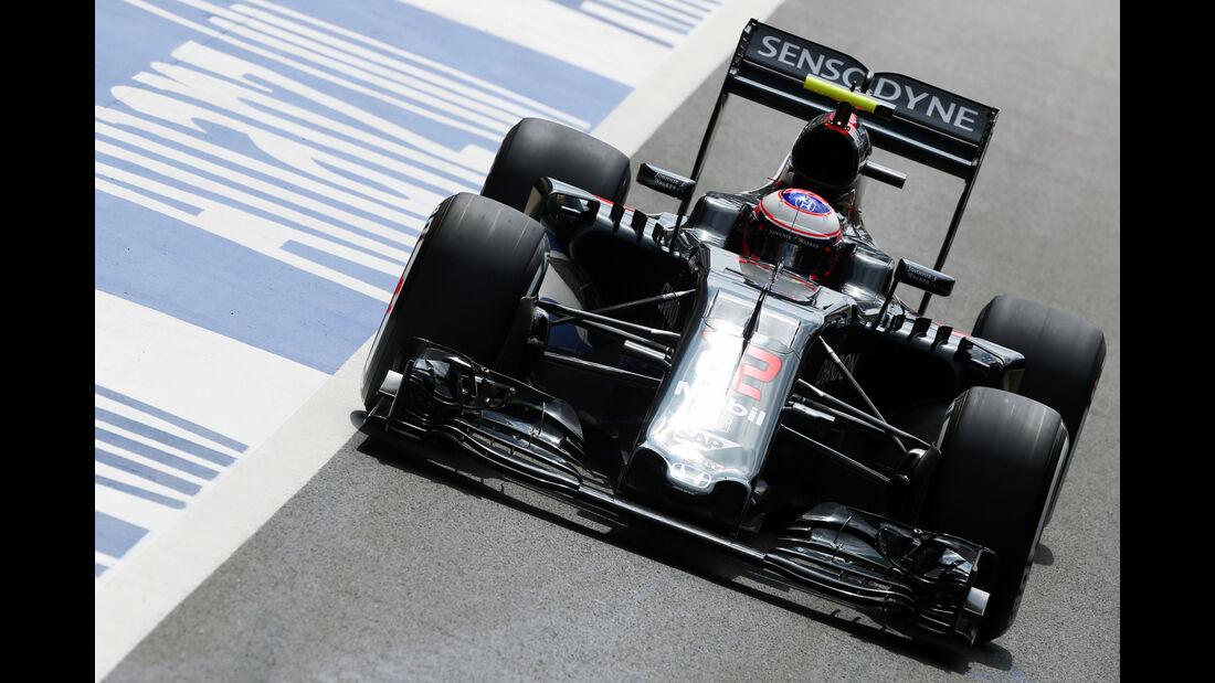 McLaren - GP England - Formel 1 - 2016