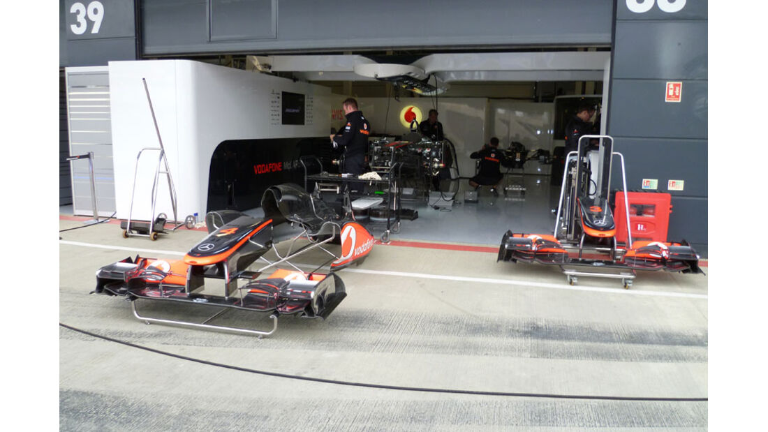McLaren - GP England - Silverstone - Do. 7. Juli 2011