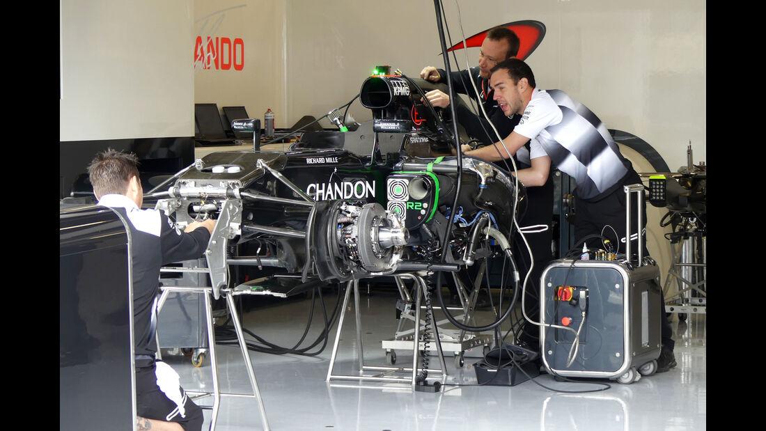 McLaren - GP England - Silverstone - Formel 1 - Donnerstag - 7.7.2016