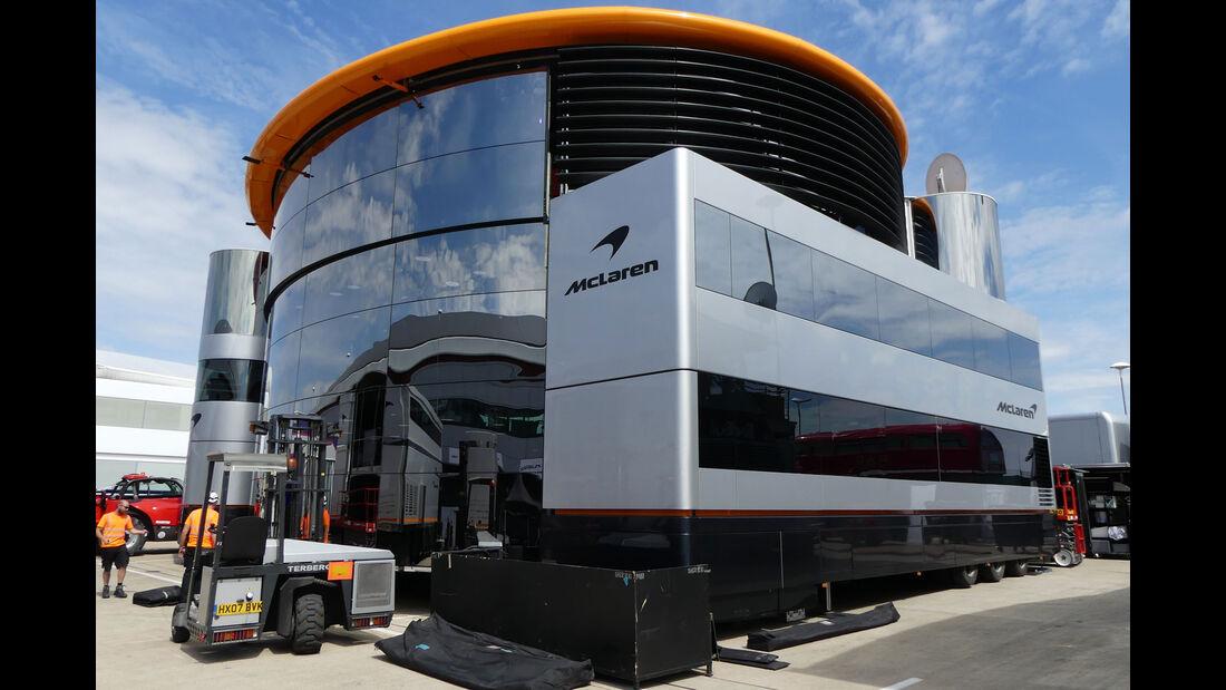 McLaren - GP England - Silverstone - Formel 1 - Mittwoch - 4.7.2018