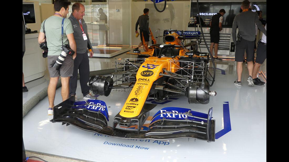 McLaren - GP England - Silverstone - Freitag - 12.7.2019