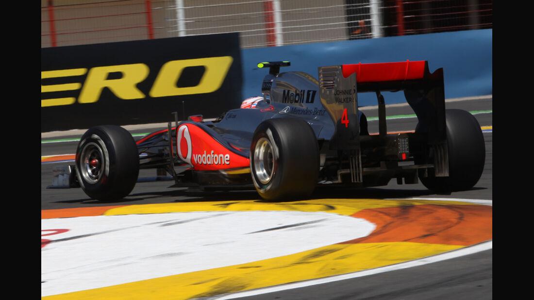 McLaren GP Europa Valencia 2011