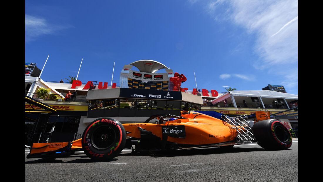 McLaren - GP Frankreich 2018