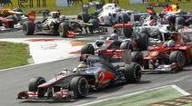 McLaren GP Italien 2012