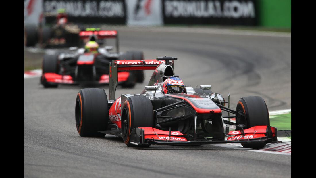 McLaren - GP Italien 2013