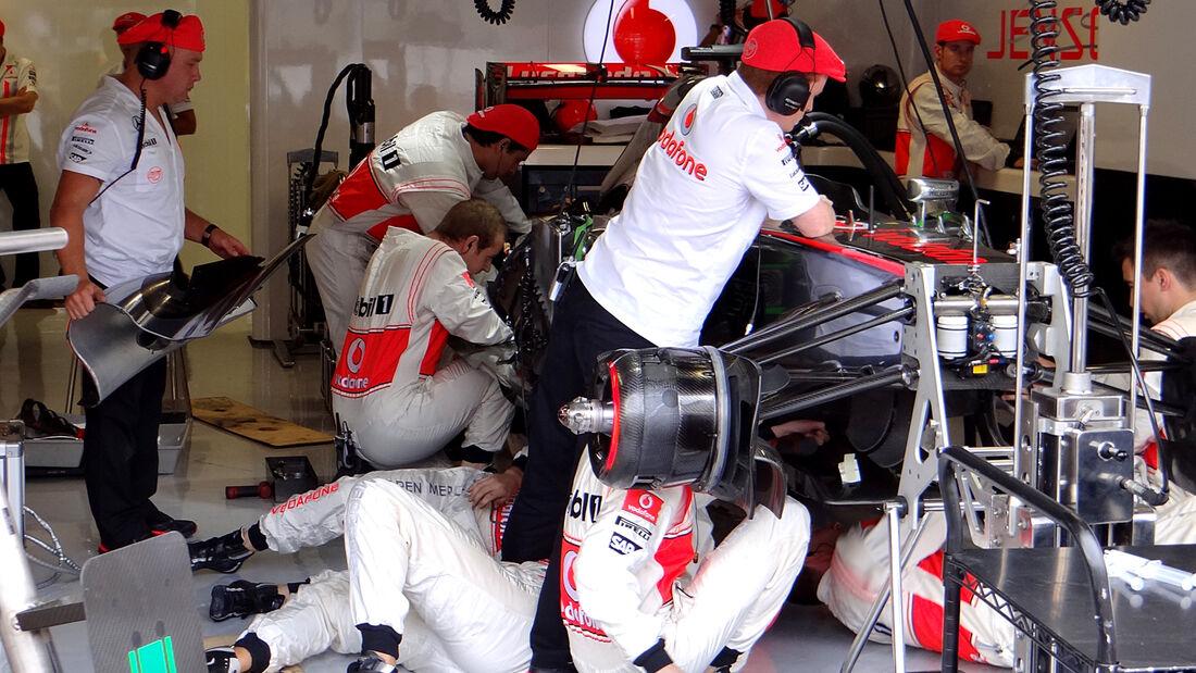 McLaren - GP Italien 2013 - Jenson Button