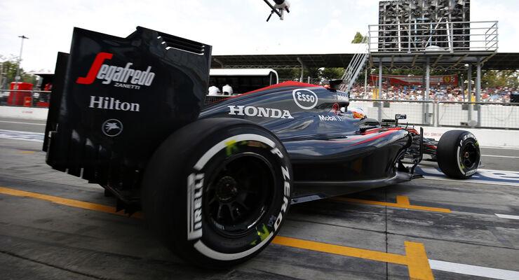 McLaren - GP Italien 2015