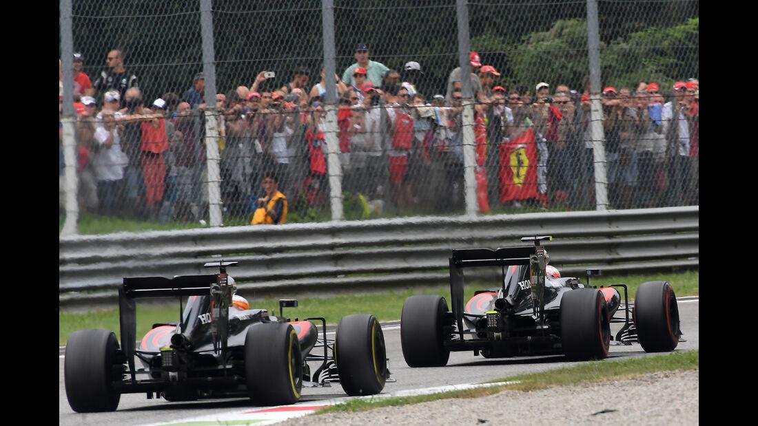 McLaren - GP Italien 2016