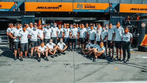 McLaren - GP Italien 2020 - Monza