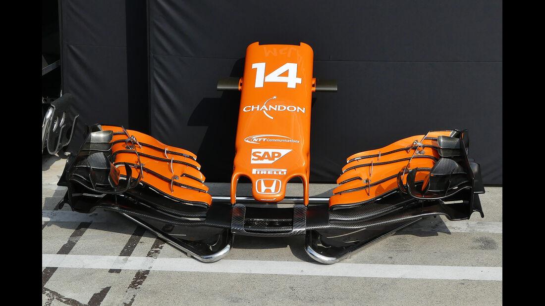 McLaren  - GP Italien - Monza - Formel 1 - 30. August 2017