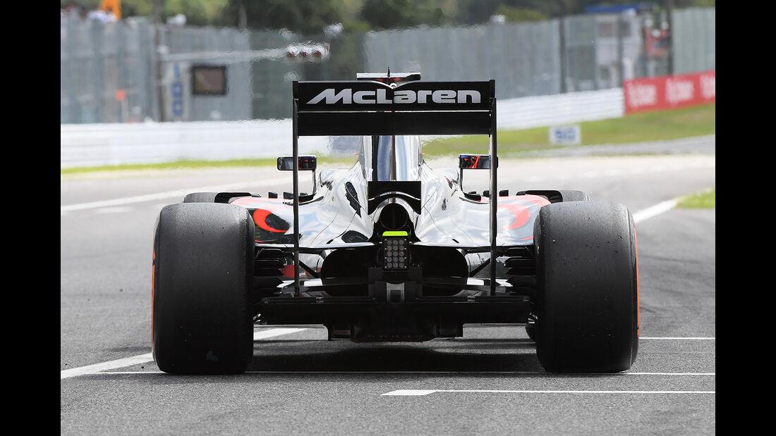 McLaren - GP Japan 2016