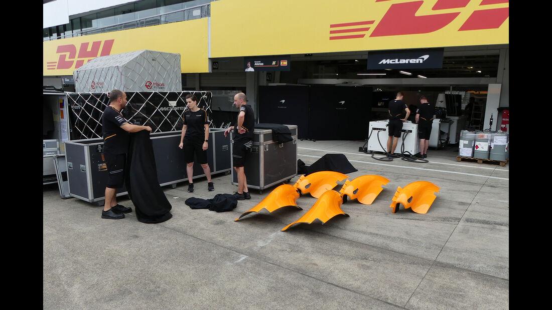 McLaren - GP Japan - Suzuka - Mittwoch - 3.10.2018