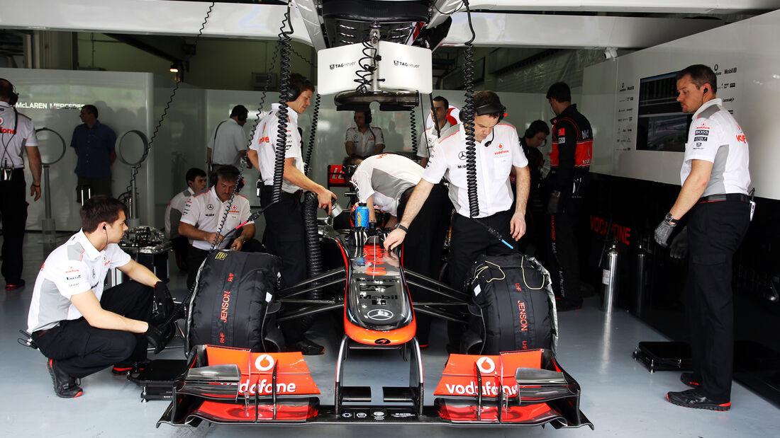 McLaren - GP Malaysia - 23. März 2013