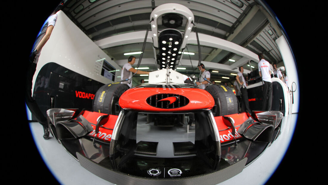 McLaren - GP Malaysia - 24. März 2012