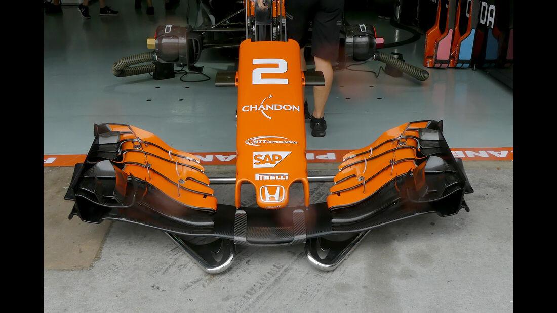 McLaren - GP Malaysia - Sepang - 29. Oktober 2017