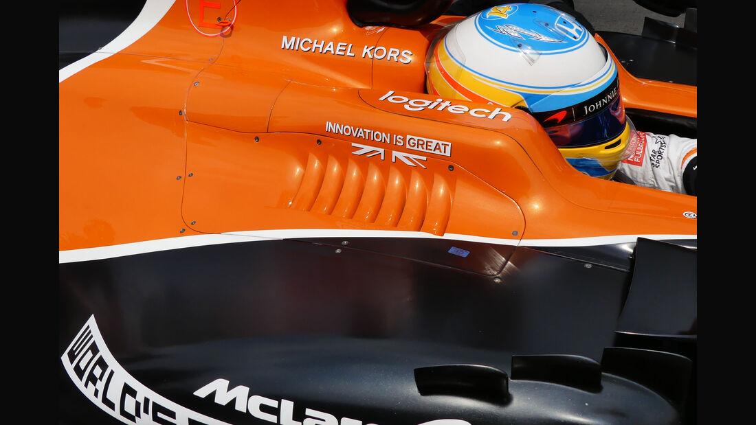 McLaren - GP Mexiko 2017