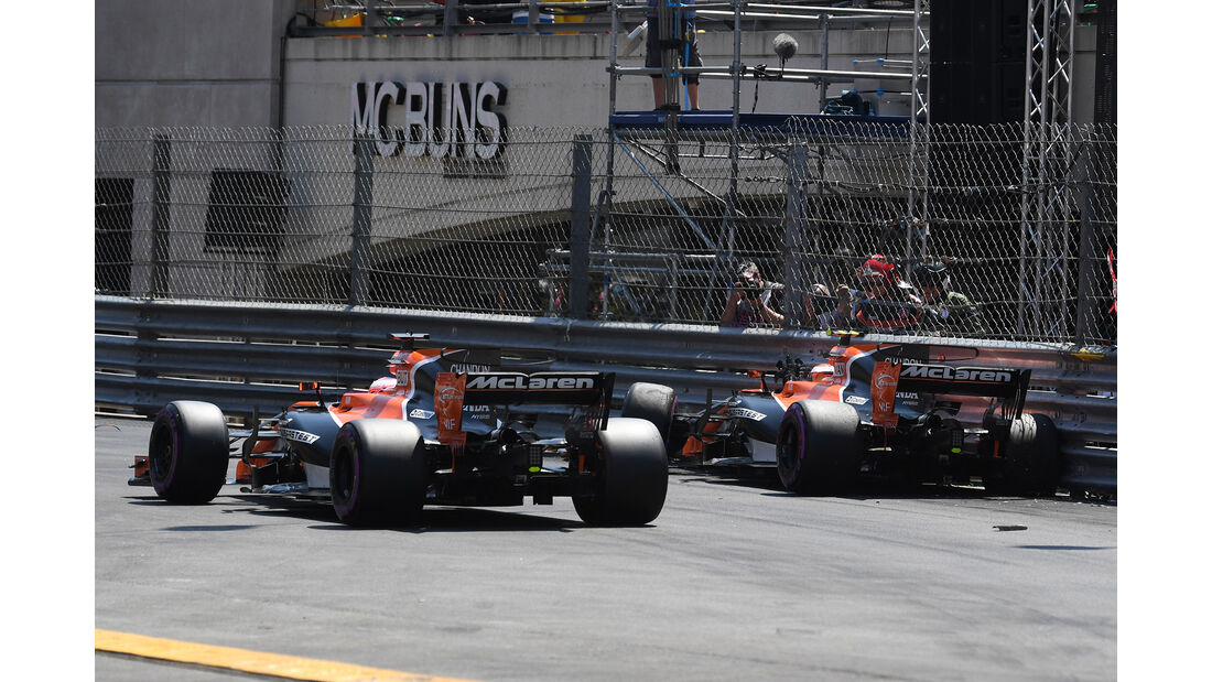 McLaren - GP Monaco - Formel 1 - 2017