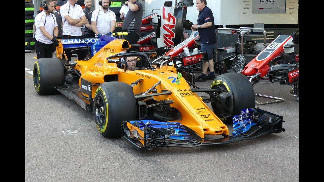 McLaren - GP Monaco - Formel 1 - Mittwoch - 23.5.2018