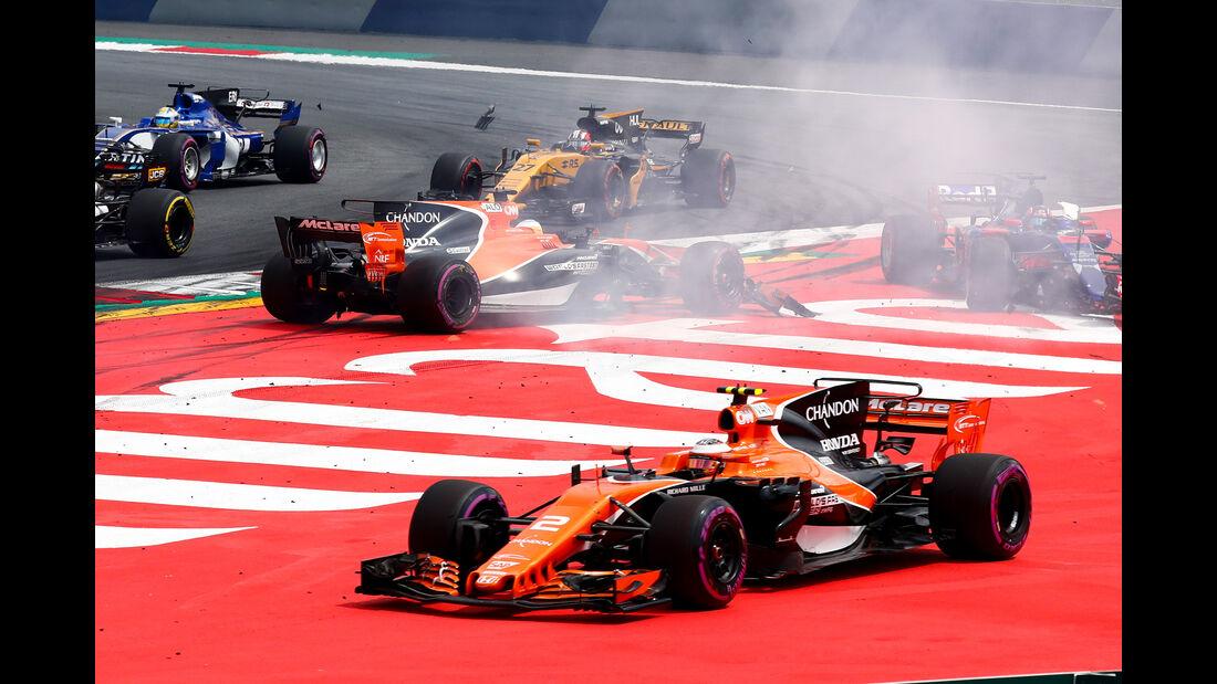 McLaren - GP Österreich 2017
