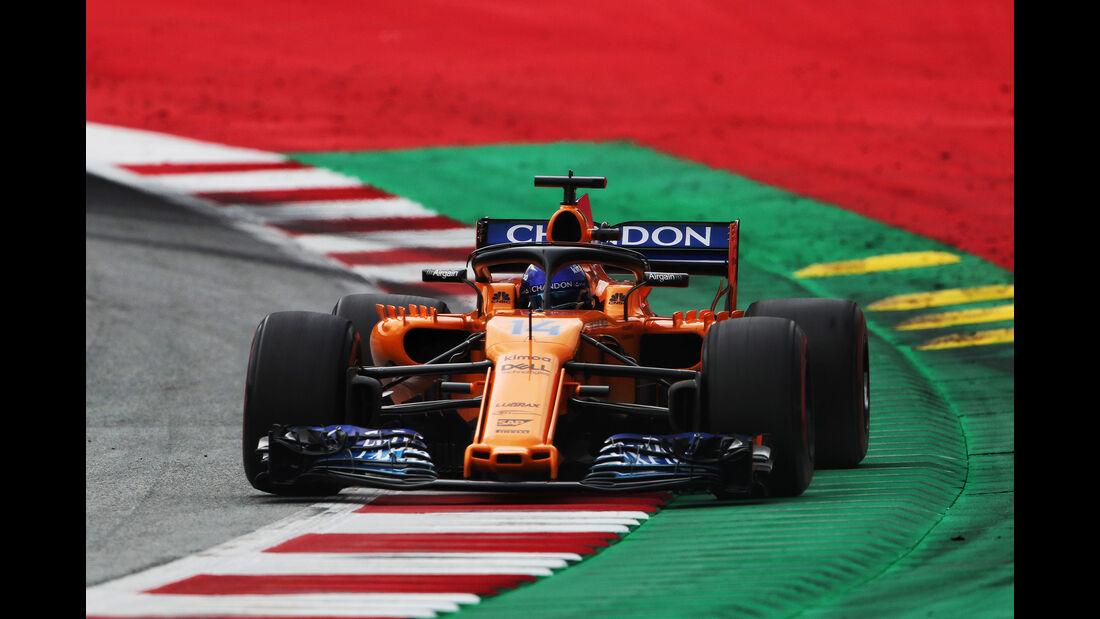McLaren - GP Österreich 2018