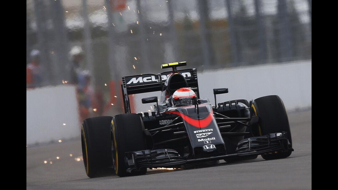 McLaren - GP Russland 2015