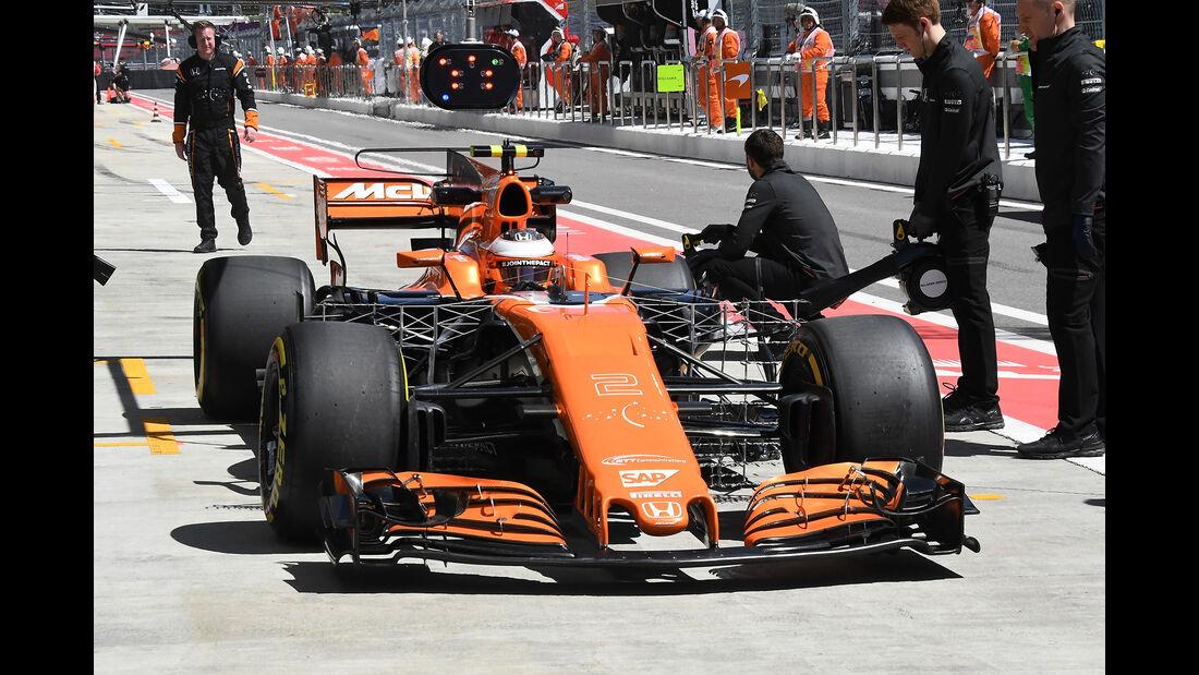 McLaren - GP Russland 2017