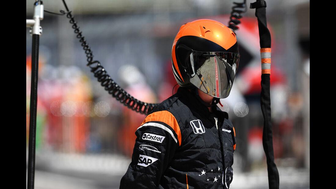 McLaren - GP Russland - Sotschi  - Formel 1 - 28. April 2017