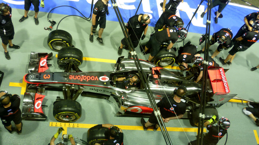 McLaren GP Singapur 2011